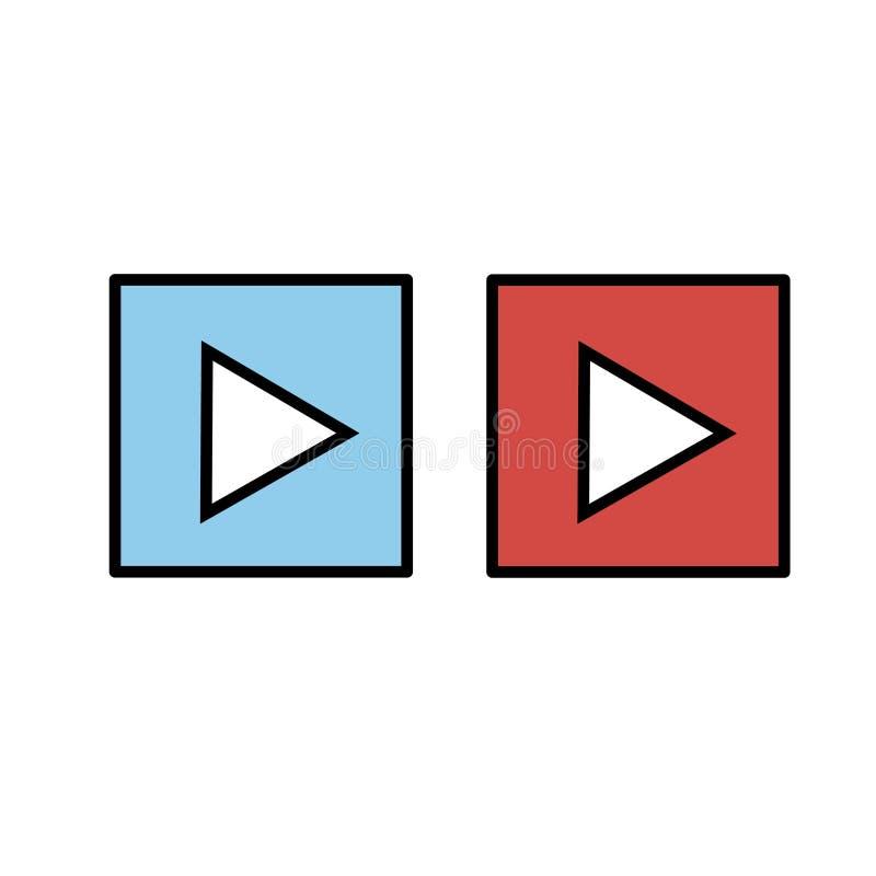 Εικονίδιο ΠΑΙΧΝΙΔΙΟΥ Διανυσματικό εικονίδιο κουμπιών Σύμβολο του παιχνιδιού στοκ φωτογραφία