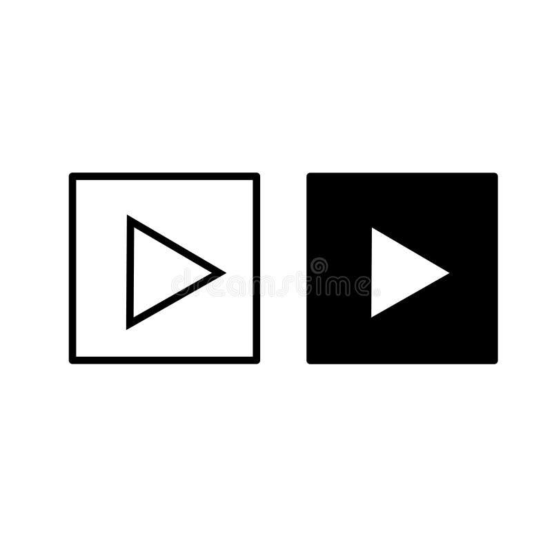 Εικονίδιο ΠΑΙΧΝΙΔΙΟΥ Διανυσματικό εικονίδιο κουμπιών Σύμβολο του παιχνιδιού στοκ εικόνα