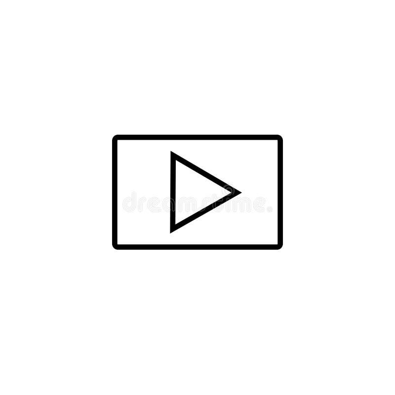 Εικονίδιο παιχνιδιού διανυσματικό εικονίδιο κουμπιών Σύμβολο του παιχνιδιού στοκ εικόνα