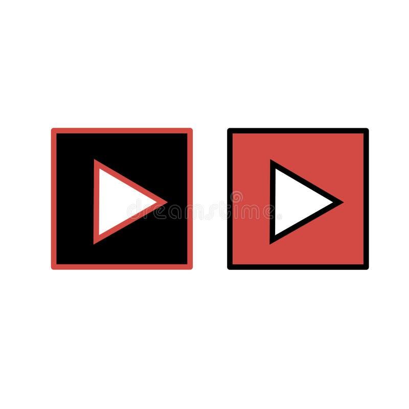 Εικονίδιο παιχνιδιού διανυσματικό εικονίδιο κουμπιών Σύμβολο του παιχνιδιού στοκ φωτογραφία
