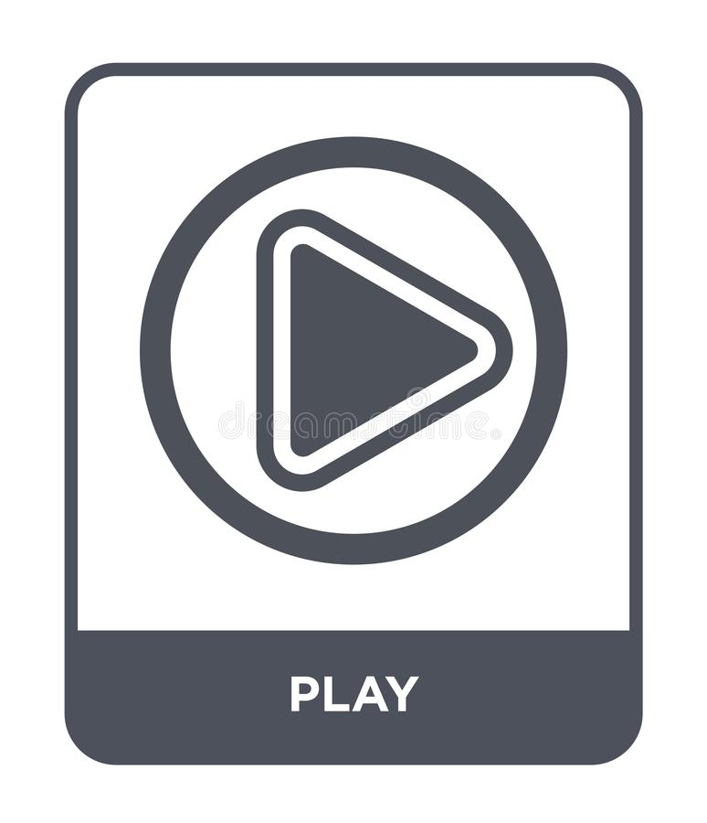 εικονίδιο παιχνιδιού στο καθιερώνον τη μόδα ύφος σχεδίου Εικονίδιο παιχνιδιού που απομονώνεται στο άσπρο υπόβαθρο απλό και σύγχρο ελεύθερη απεικόνιση δικαιώματος