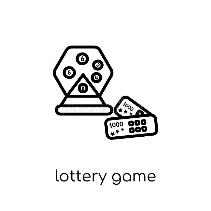 Εικονίδιο παιχνιδιών λαχειοφόρων αγορών από τη συλλογή Arcade ελεύθερη απεικόνιση δικαιώματος