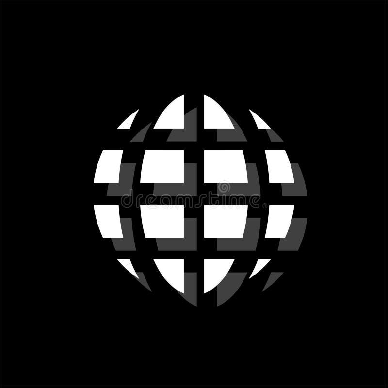 Εικονίδιο πλανητών επίπεδο ελεύθερη απεικόνιση δικαιώματος