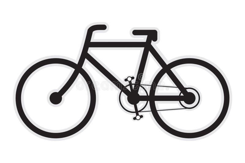 εικονίδιο ποδηλάτων στοκ φωτογραφία με δικαίωμα ελεύθερης χρήσης