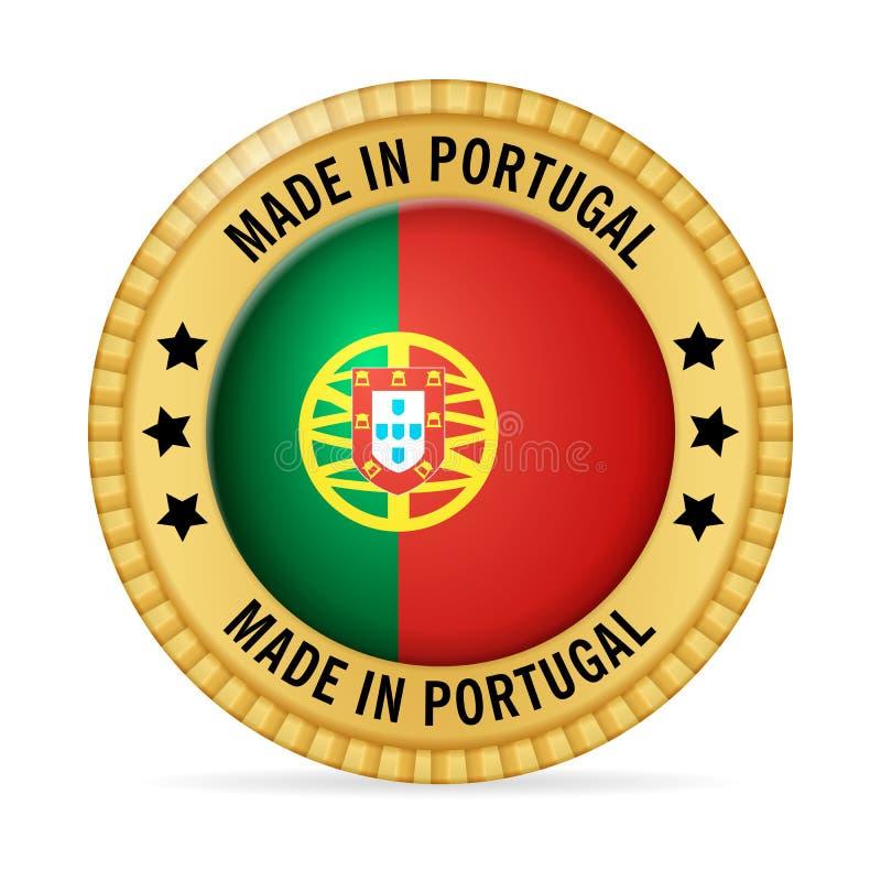 Εικονίδιο που κατασκευάζεται στην Πορτογαλία απεικόνιση αποθεμάτων