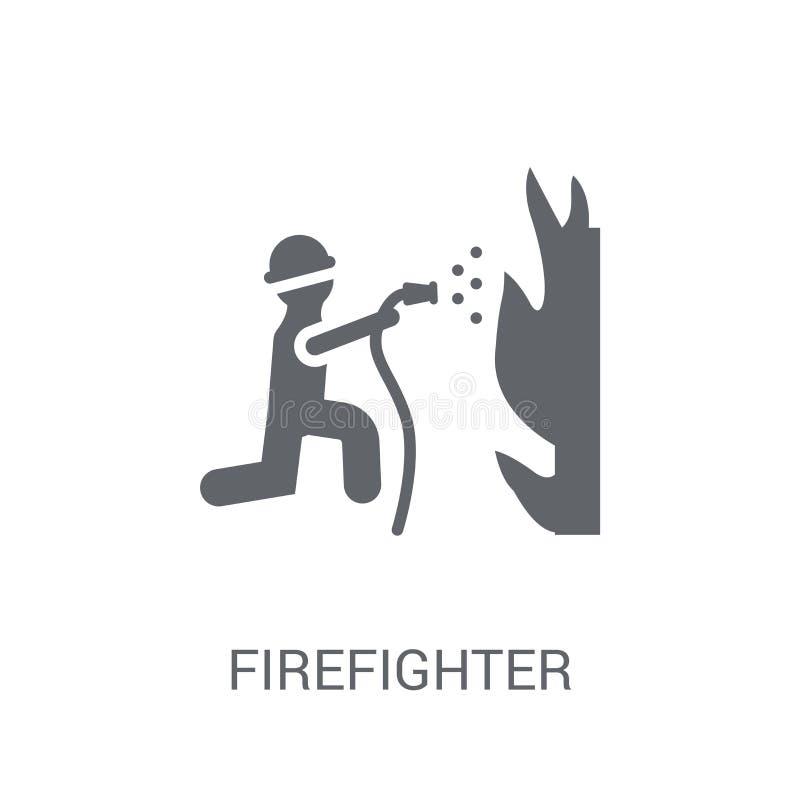 Εικονίδιο πυροσβεστών  ελεύθερη απεικόνιση δικαιώματος