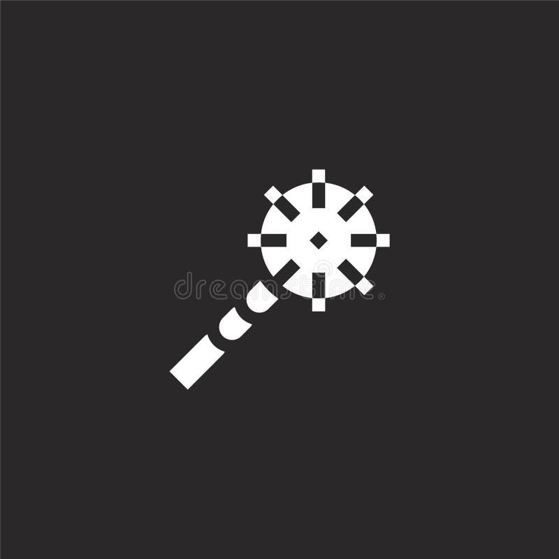 εικονίδιο ράβδου Γεμισμένο εικονίδιο ράβδου για το σχέδιο ιστοχώρου και κινητός, app ανάπτυξη εικονίδιο ράβδου από τη γεμισμένη σ απεικόνιση αποθεμάτων