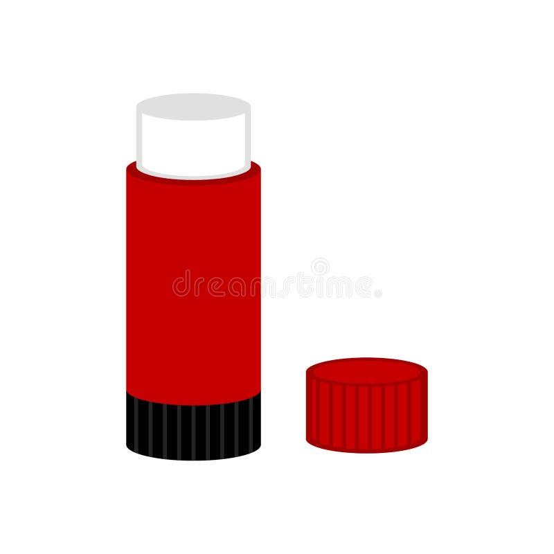 Εικονίδιο ραβδιών κόλλας απεικόνιση αποθεμάτων