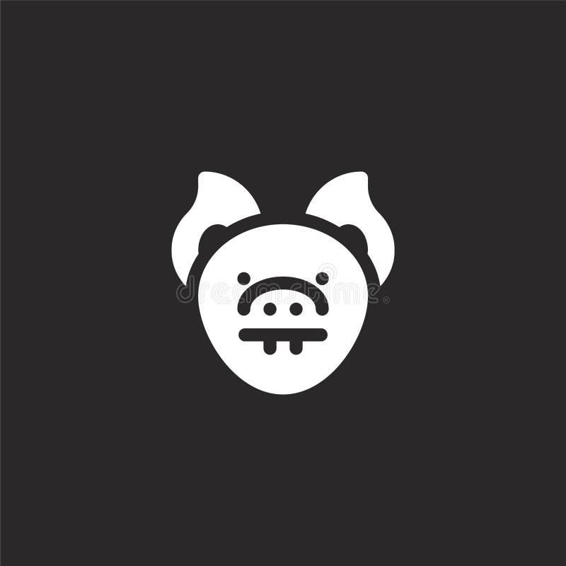 εικονίδιο ροπάλων Γεμισμένο εικονίδιο ροπάλων για το σχέδιο ιστοχώρου και κινητός, app ανάπτυξη εικονίδιο ροπάλων από τη γεμισμέν απεικόνιση αποθεμάτων