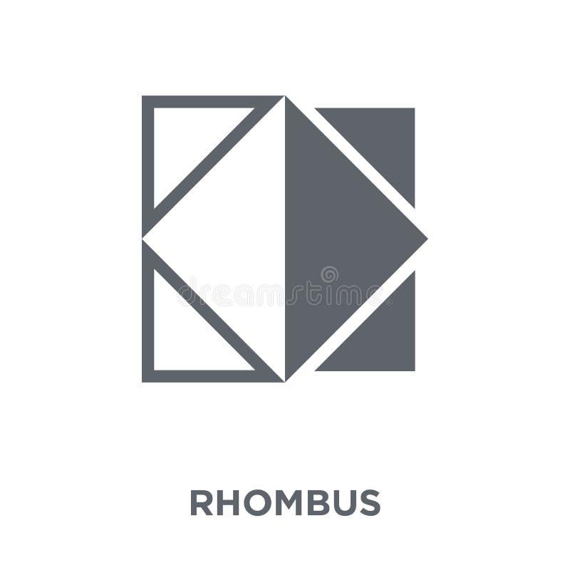 Εικονίδιο ρόμβων από τη συλλογή γεωμετρίας διανυσματική απεικόνιση
