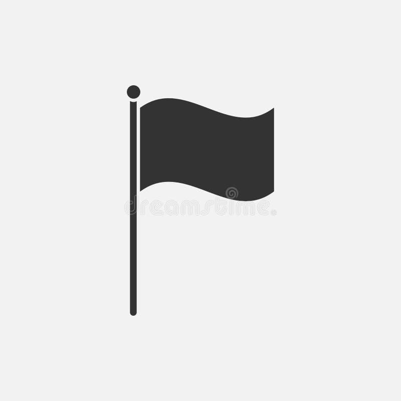 Εικονίδιο σημαιών, έμβλημα, ensign, οικόσημο, χρώμα, χρώμα απεικόνιση αποθεμάτων