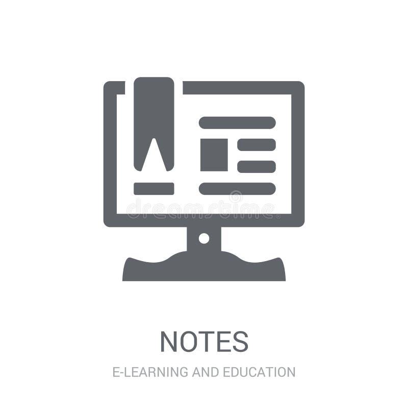 Εικονίδιο σημειώσεων  απεικόνιση αποθεμάτων