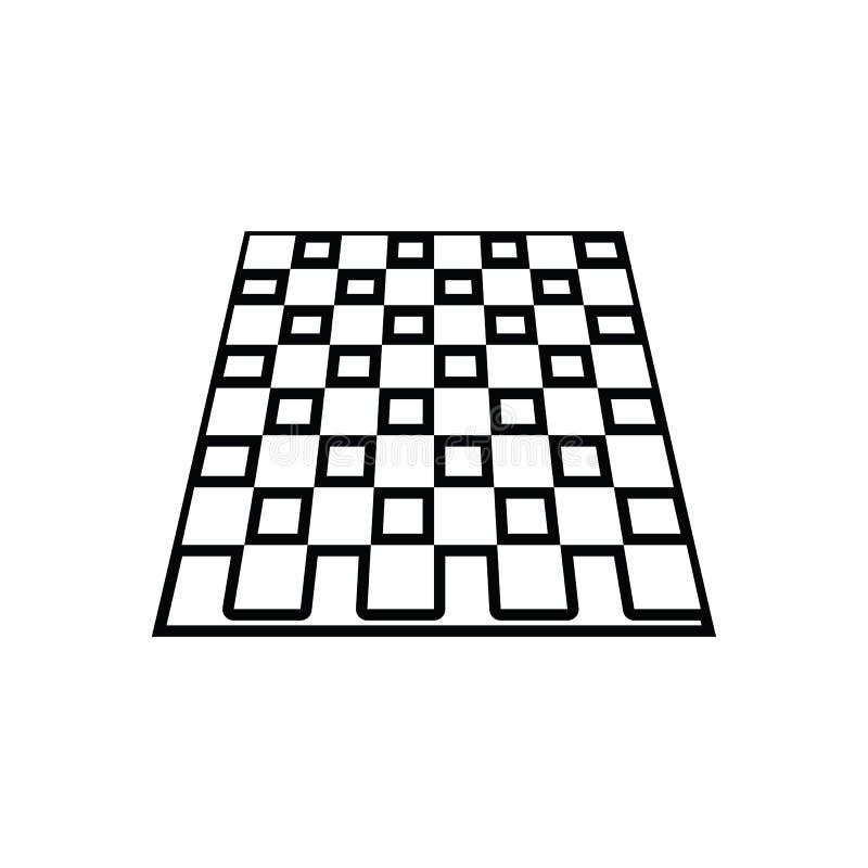 εικονίδιο σκακιού πινάκων επιτραπέζιων παιχνιδιών Στοιχείο του αθλητισμού για το κινητό εικονίδιο έννοιας και Ιστού apps r ελεύθερη απεικόνιση δικαιώματος