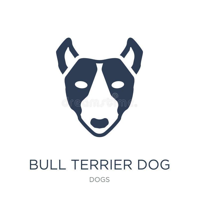 Εικονίδιο σκυλιών τεριέ του Bull  ελεύθερη απεικόνιση δικαιώματος