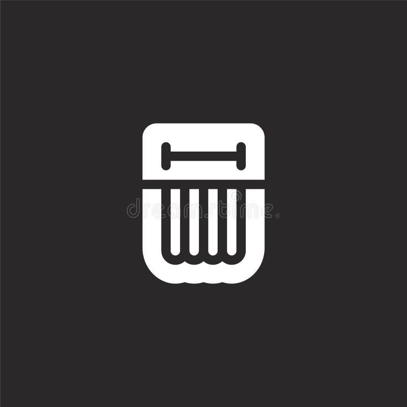 εικονίδιο στρωμάτων αέρα Γεμισμένο εικονίδιο στρωμάτων αέρα για το σχέδιο ιστοχώρου και κινητός, app ανάπτυξη εικονίδιο στρωμάτων ελεύθερη απεικόνιση δικαιώματος