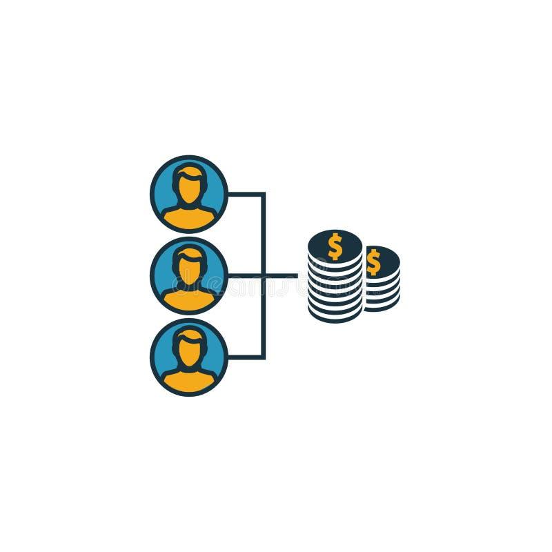 Εικονίδιο συμβολής Απλό στοιχείο από τη συλλογή εικονιδίων διαχείρισης έργων Εικονίδιο 'Συμβολή δημιουργικότητας' ui, ux, εφαρμογ ελεύθερη απεικόνιση δικαιώματος