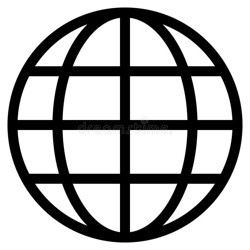 Εικονίδιο συμβόλων σφαιρών - μαύρος απλός, απομονωμένος - διάνυσμα απεικόνιση αποθεμάτων