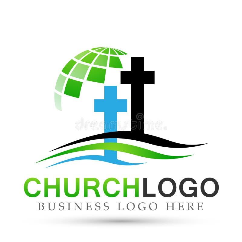 Εικονίδιο σχεδίου λογότυπων αγάπης προσοχής ένωσης παραλιών εκκλησιών σφαιρών στο άσπρο υπόβαθρο Κλασσικός, αρχαίος Στην άσπρη αν διανυσματική απεικόνιση