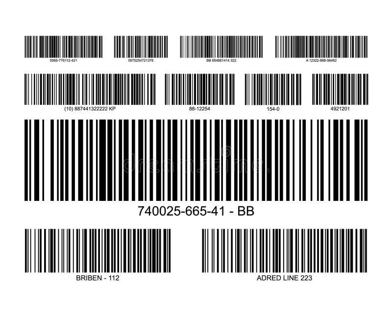 Εικονίδιο τιμών ετικετών κώδικα φραγμών Λιανική ετικέττα πληροφοριών καταλόγων ανιχνευτών γραμμωτών κωδίκων ελεύθερη απεικόνιση δικαιώματος
