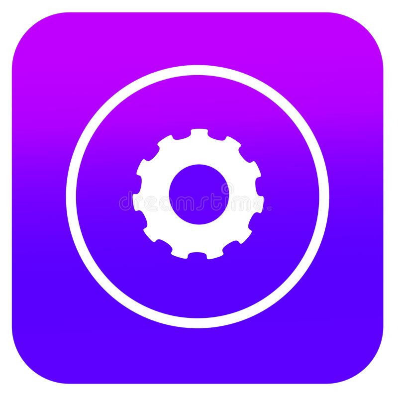 Εικονίδιο τοποθετήσεων για App μουσικής την ανάπτυξη ελεύθερη απεικόνιση δικαιώματος