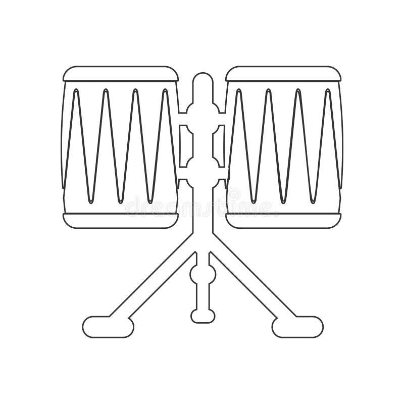 εικονίδιο του Κογκό κλονισμού r r διανυσματική απεικόνιση