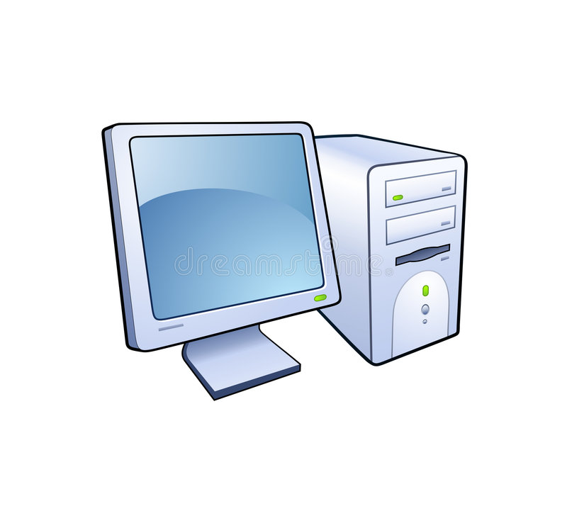 εικονίδιο υπολογιστών ελεύθερη απεικόνιση δικαιώματος