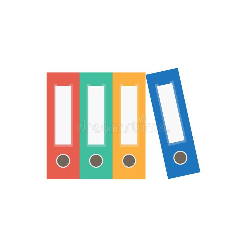 Εικονίδιο φακέλλων αρχείων bindery ελεύθερη απεικόνιση δικαιώματος