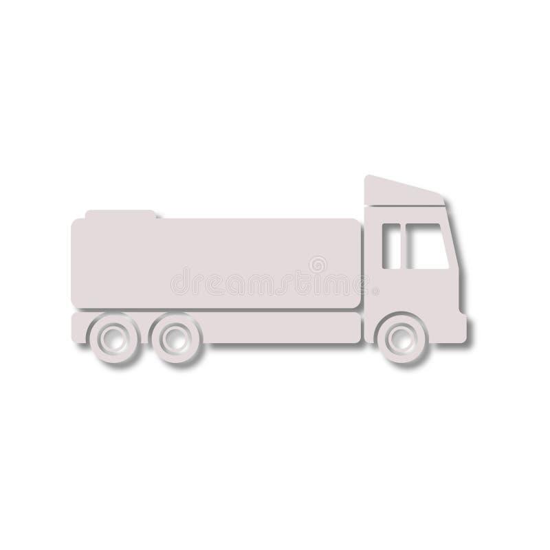 Εικονίδιο φορτηγών διανυσματική απεικόνιση