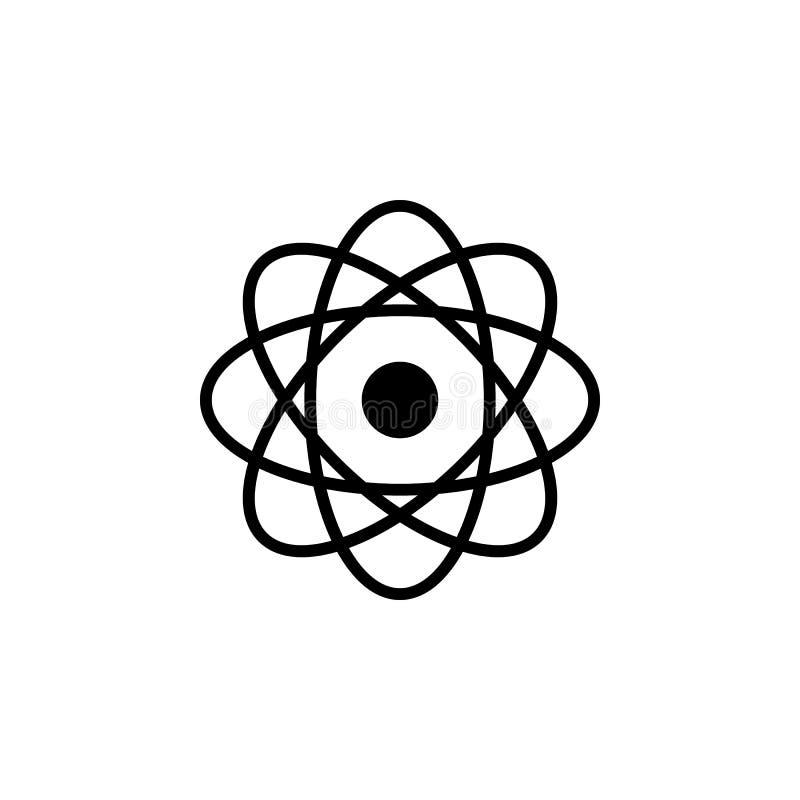 Εικονίδιο χημείας Σχέδιο σημαδιών απεικόνιση αποθεμάτων