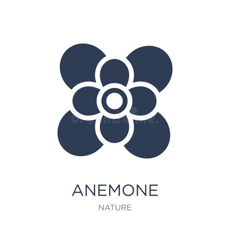 εικονίδιο anemone  διανυσματική απεικόνιση