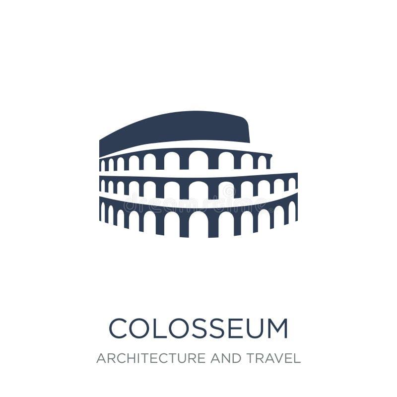 Εικονίδιο Colosseum  ελεύθερη απεικόνιση δικαιώματος