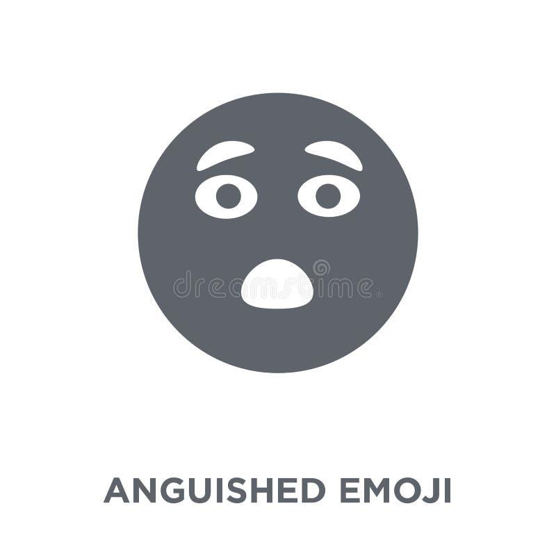 Εικονίδιο emoji Anguished από τη συλλογή Emoji απεικόνιση αποθεμάτων