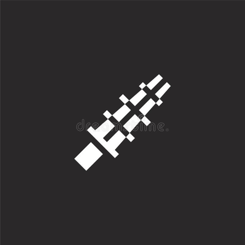 εικονίδιο kendo Γεμισμένο εικονίδιο kendo για το σχέδιο ιστοχώρου και κινητός, app ανάπτυξη εικονίδιο kendo από τη γεμισμένη συλλ διανυσματική απεικόνιση