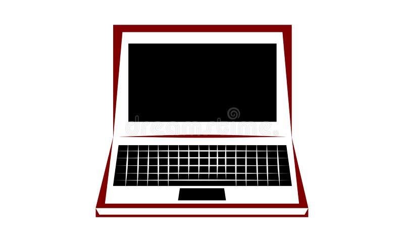 Εικονίδιο lap-top στοκ φωτογραφία με δικαίωμα ελεύθερης χρήσης