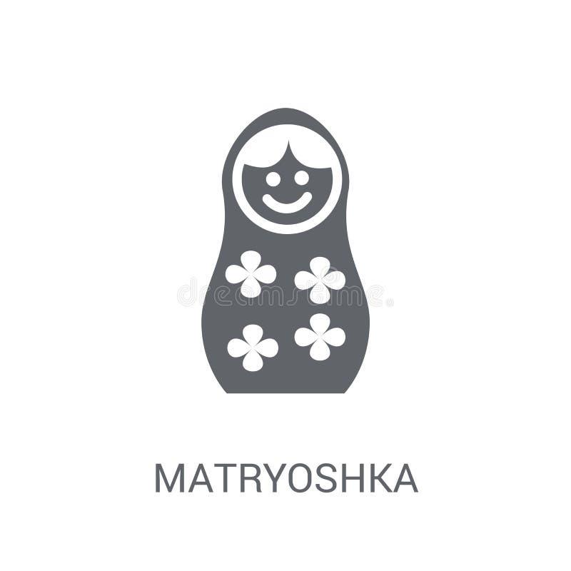Εικονίδιο Matryoshka  απεικόνιση αποθεμάτων
