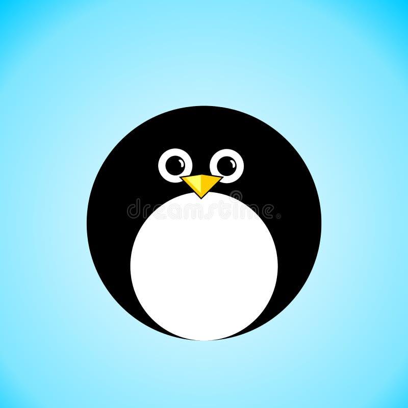 εικονίδιο penguin ελεύθερη απεικόνιση δικαιώματος