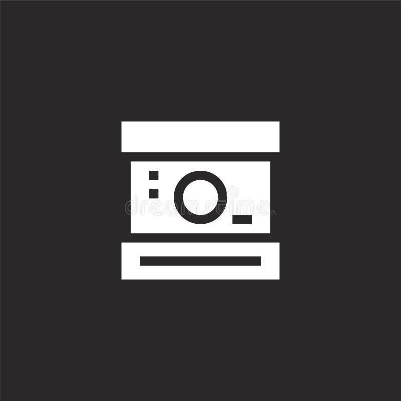 εικονίδιο polaroid Γεμισμένο εικονίδιο polaroid για το σχέδιο ιστοχώρου και κινητός, app ανάπτυξη εικονίδιο polaroid από τη γεμισ ελεύθερη απεικόνιση δικαιώματος