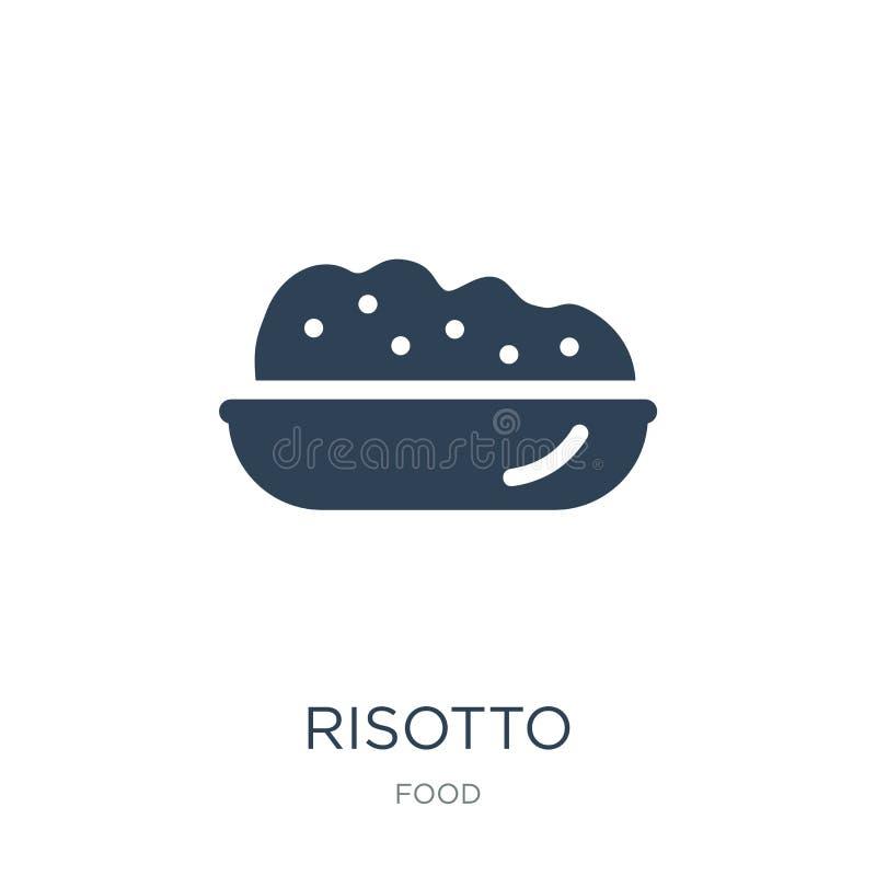 εικονίδιο risotto στο καθιερώνον τη μόδα ύφος σχεδίου εικονίδιο risotto που απομονώνεται στο άσπρο υπόβαθρο απλό και σύγχρονο επί διανυσματική απεικόνιση