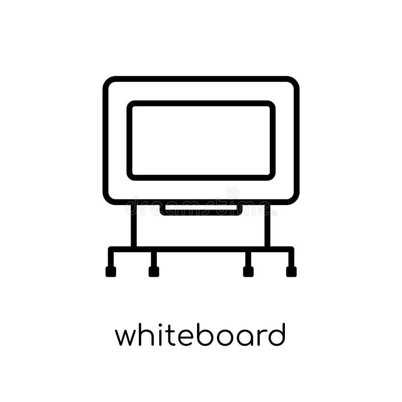 Εικονίδιο Whiteboard  ελεύθερη απεικόνιση δικαιώματος
