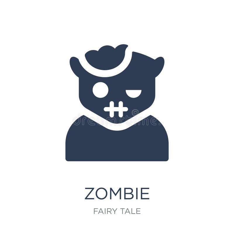 Εικονίδιο Zombie  διανυσματική απεικόνιση