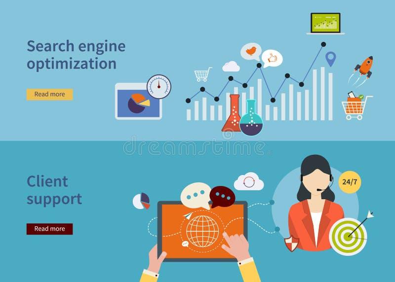 Εικονίδια έρευνας αγοράς ελεύθερη απεικόνιση δικαιώματος
