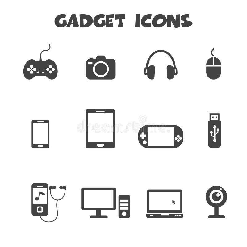 Εικονίδια συσκευών ελεύθερη απεικόνιση δικαιώματος