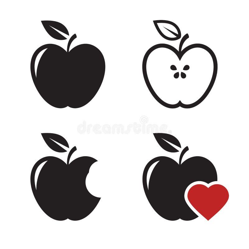 Εικονίδια της Apple ελεύθερη απεικόνιση δικαιώματος