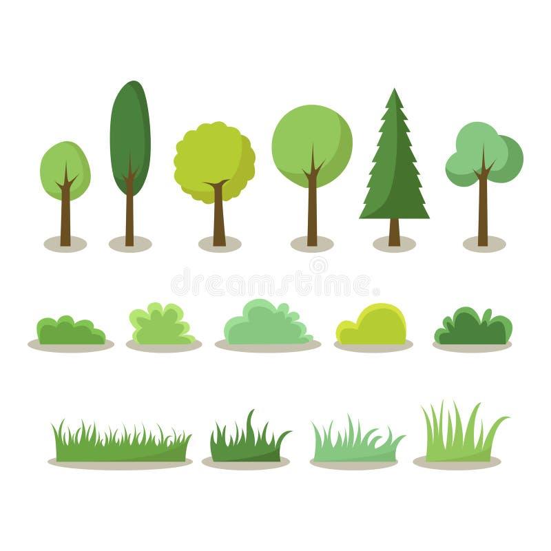 Εικονίδιο δέντρων στοκ φωτογραφίες με δικαίωμα ελεύθερης χρήσης