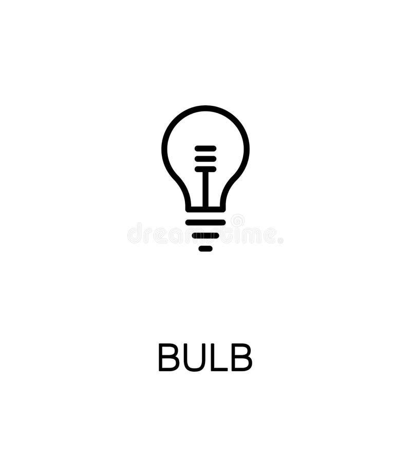 Εικονίδιο λαμπών φωτός απεικόνιση αποθεμάτων