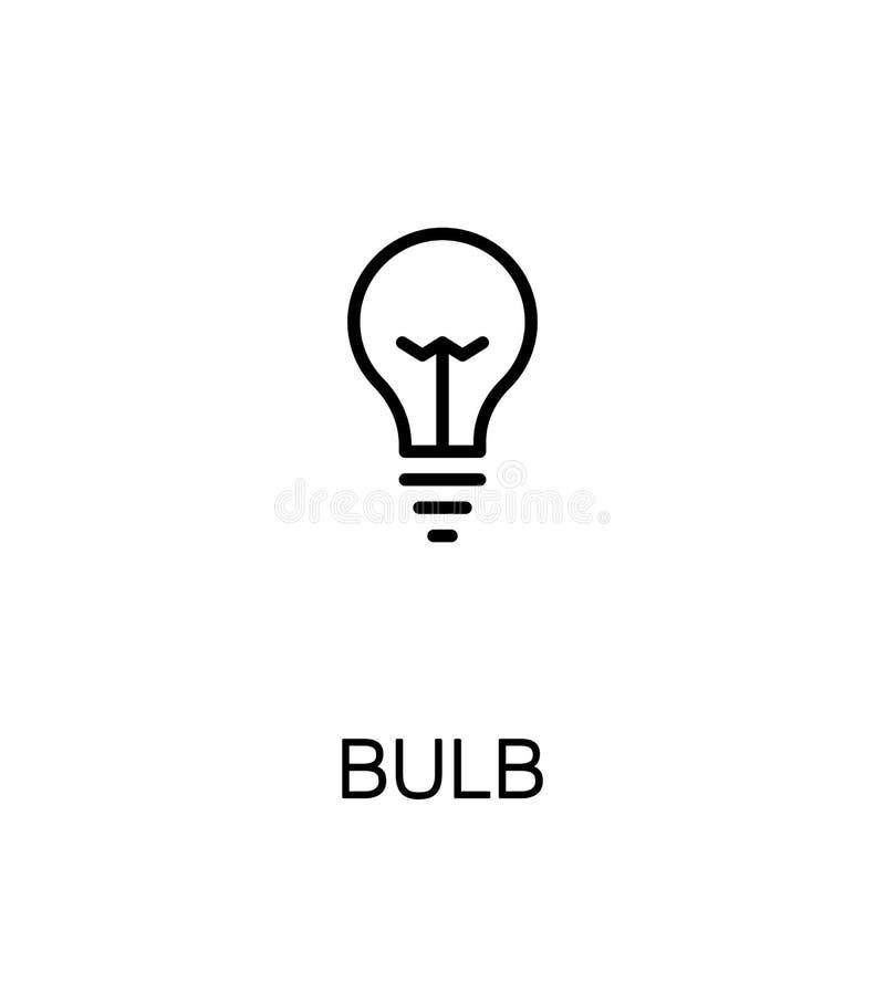 Εικονίδιο λαμπών φωτός διανυσματική απεικόνιση