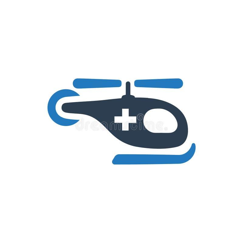 Εικονίδιο ασθενοφόρων αέρα ελεύθερη απεικόνιση δικαιώματος