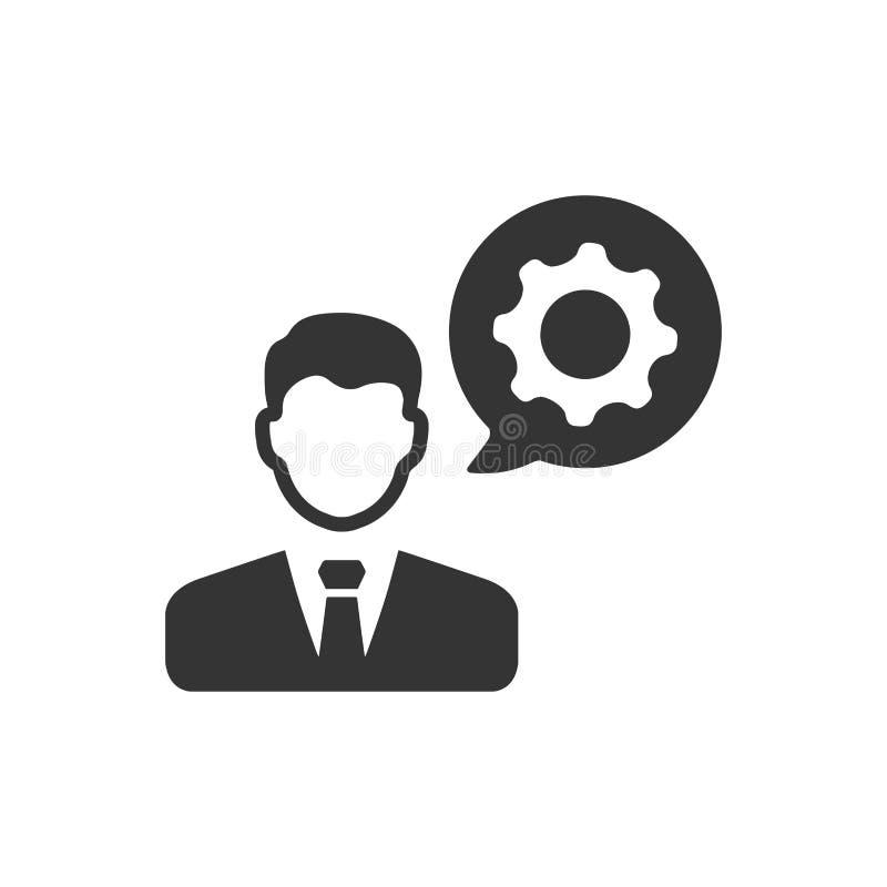 Εικονίδιο Διευθυντών επιχείρησης διανυσματική απεικόνιση