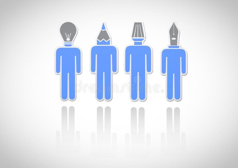Εικονίδιο. Εργαλείο-κεφάλι απεικόνιση αποθεμάτων