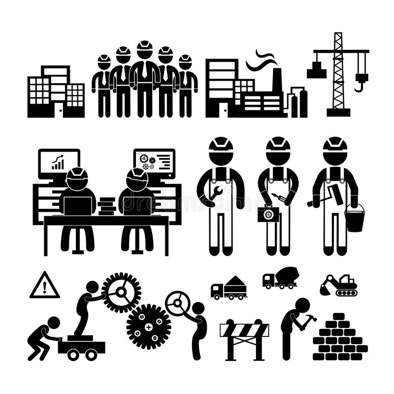 Εικονίδιο εφαρμοσμένης μηχανικής απεικόνιση αποθεμάτων